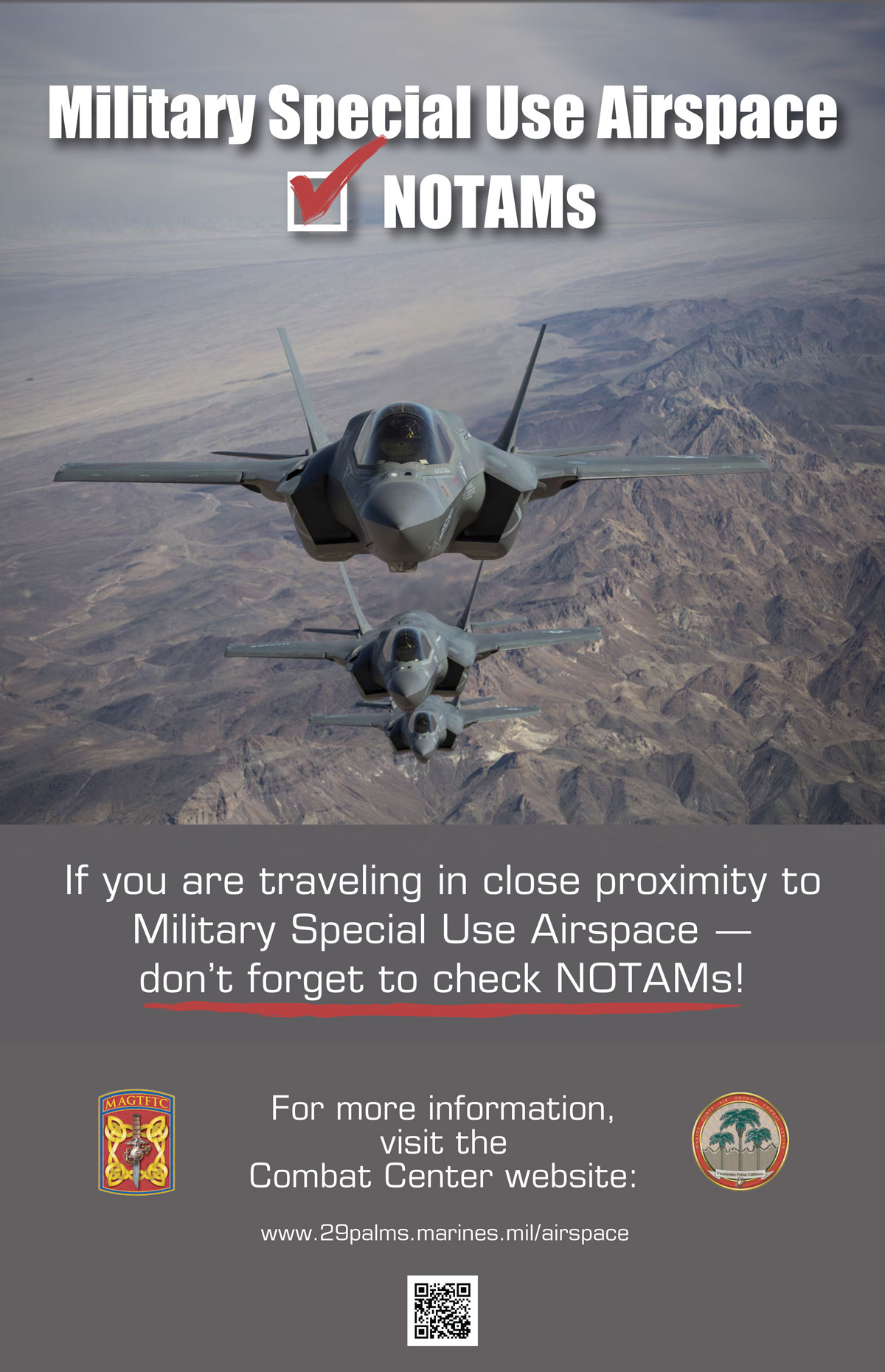 Special Use Airspace | MCAGCC